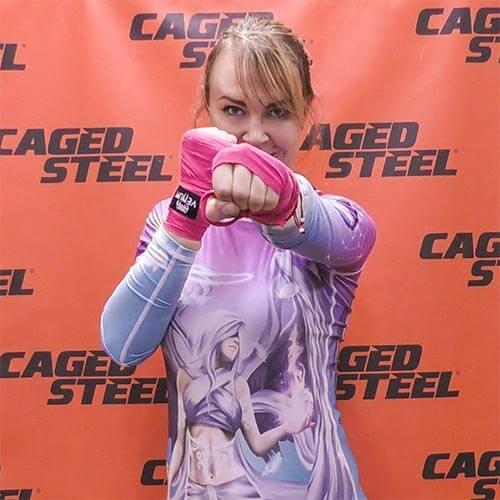 Become A Caged Steel Black Belt